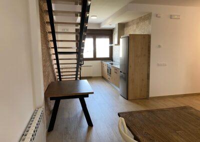 cocina apartamento doble